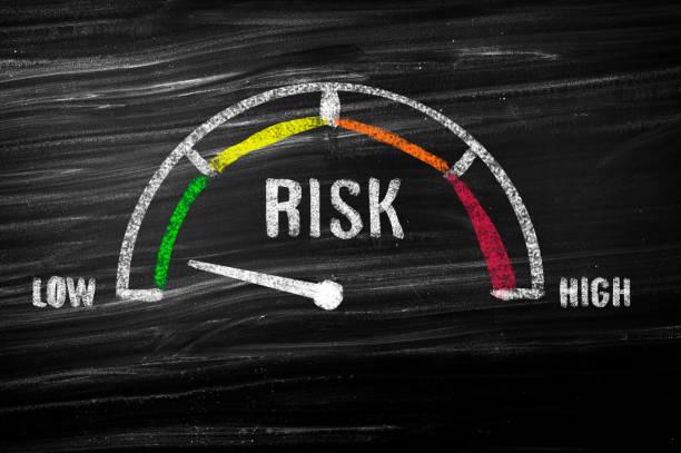リスクメーター - リスク ストックフォトと画像