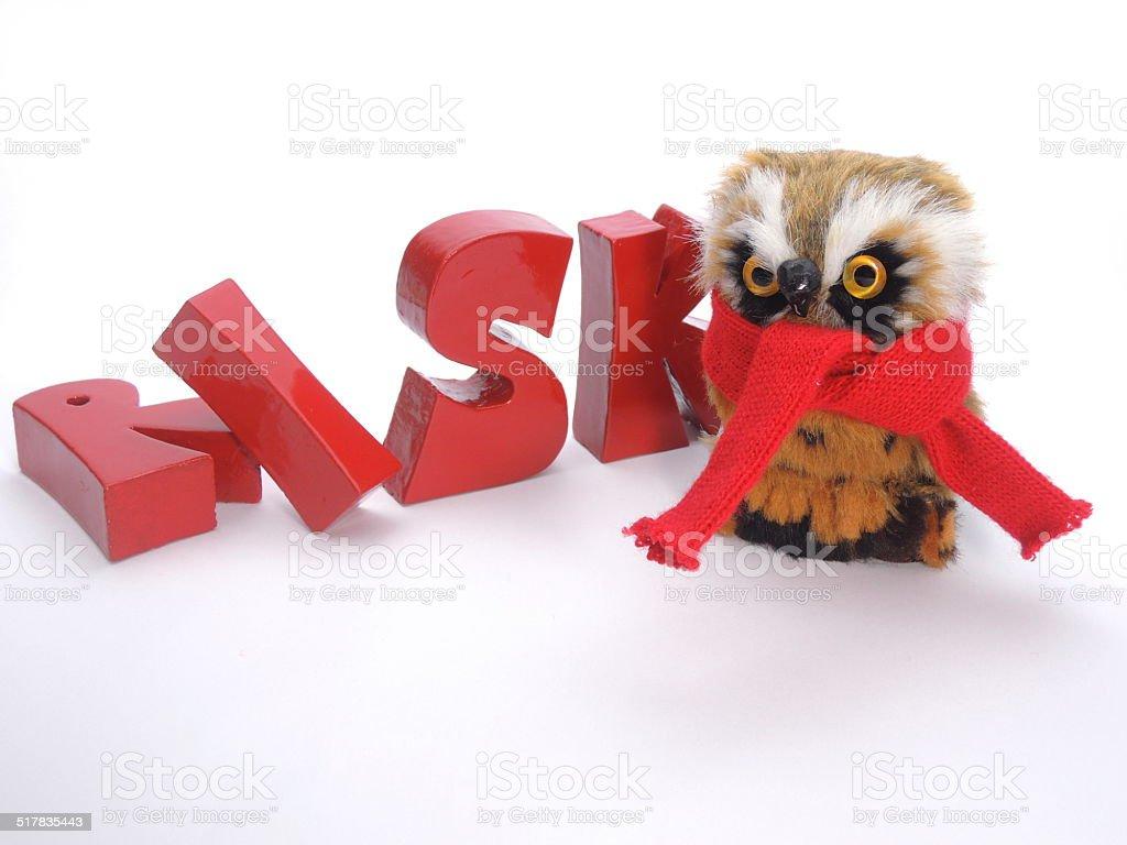 Risk of bird flu stock photo