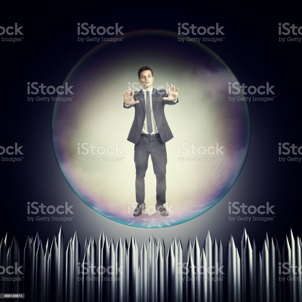 risk of business stock photo
