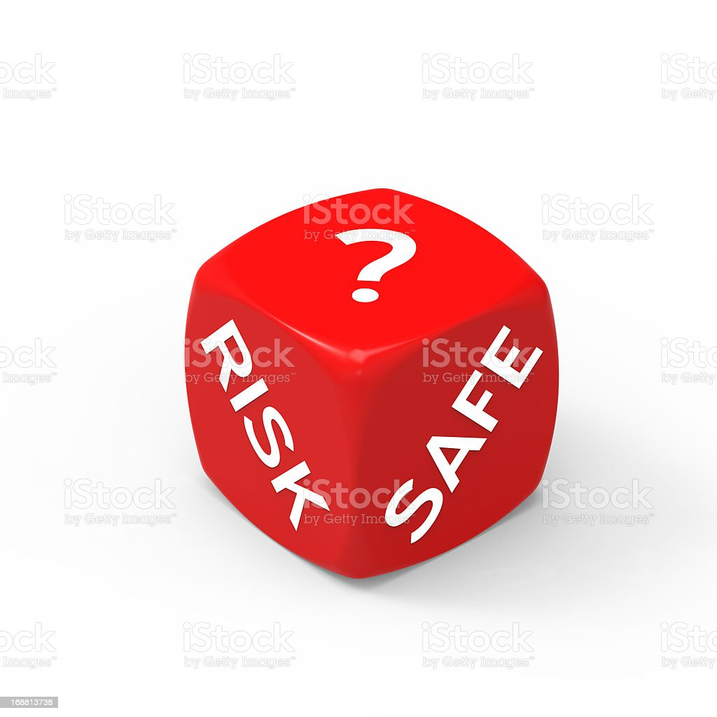 Risk or Safety stock photo