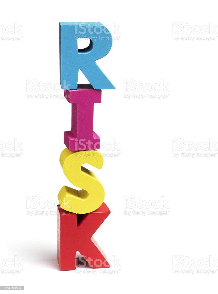 Risk royalty-free stock photo