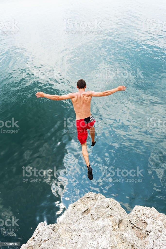 Risk Taking royalty-free stock photo