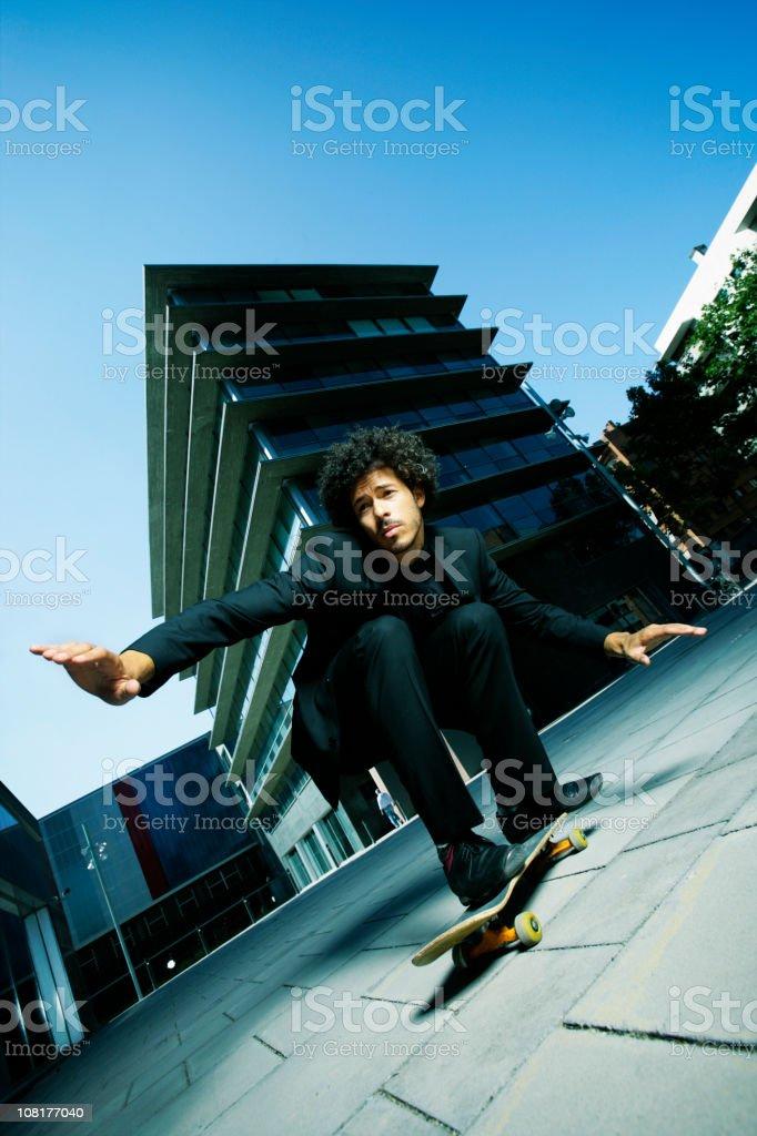 Risky business royalty-free stock photo