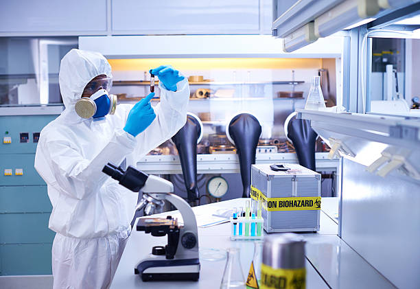 Risky research stock photo