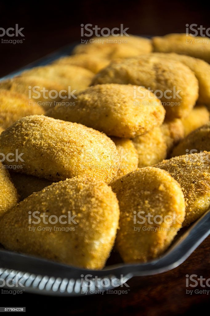 risoles on silver platter stock photo more pictures of breakfast
