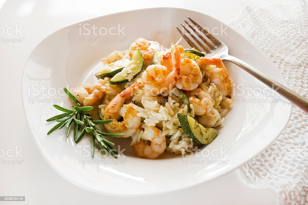 Risotto stock photo