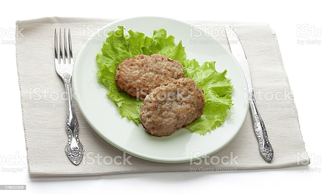 Rissoles royalty-free stock photo