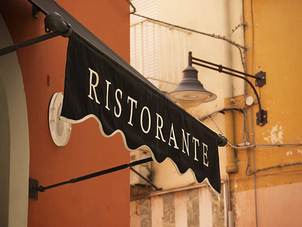 Ristorante-Italienische restaurant-in old street – Foto
