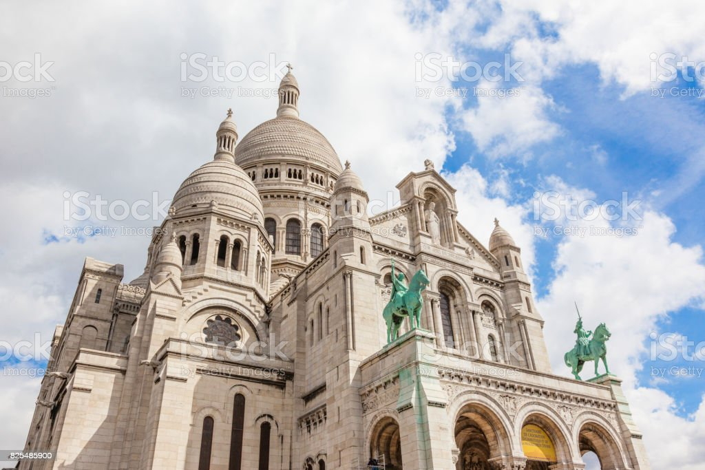 Sacre-Coeur Church stock photo