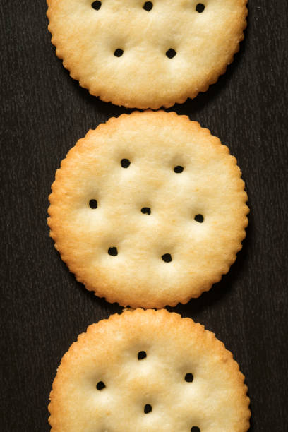 Ritz Round Crackers stock photo