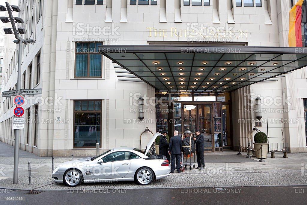 Ritz-Carlton Hotel, Berlin stock photo