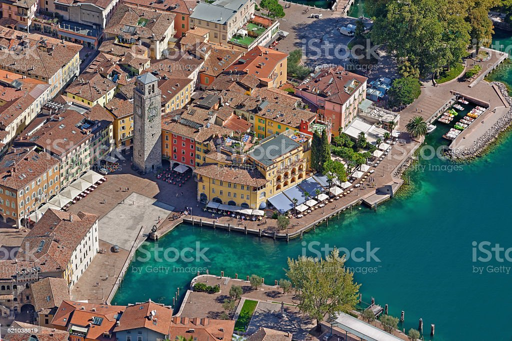 Riva del Garda stock photo