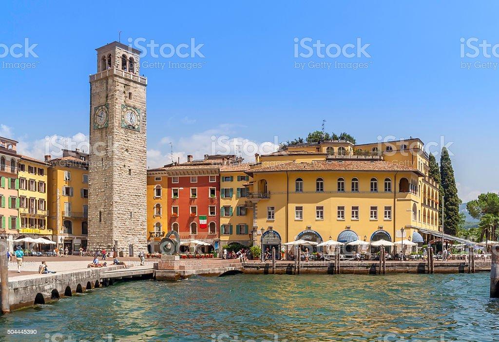 Riva Del Garda Quayside stock photo