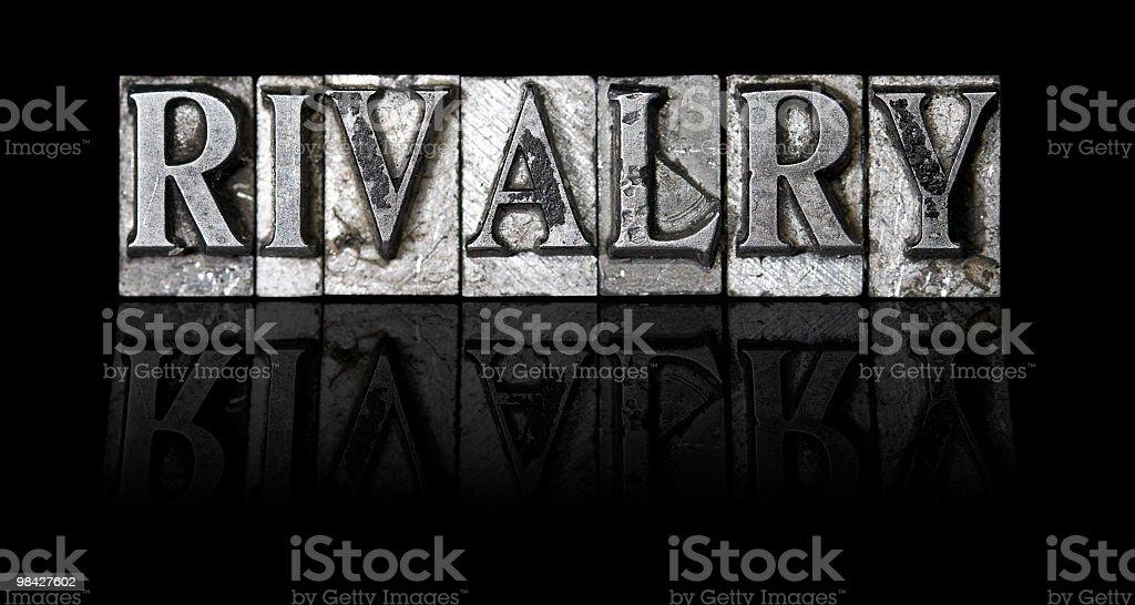 Rivalry royalty-free stock photo