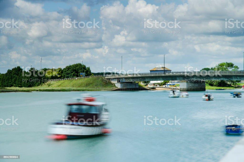 River Adur, Shoreham-by-Sea royalty-free stock photo