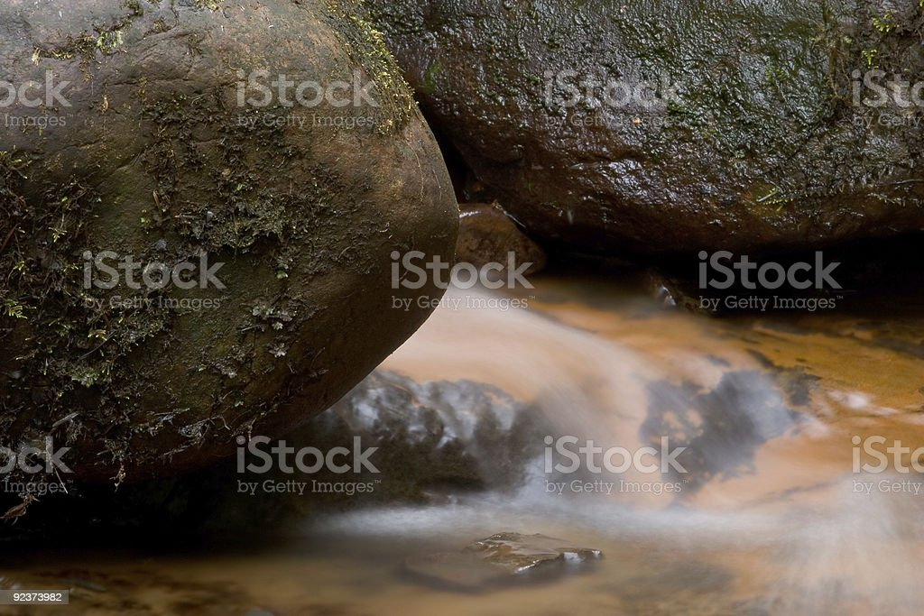 River and Rocks royalty-free stock photo