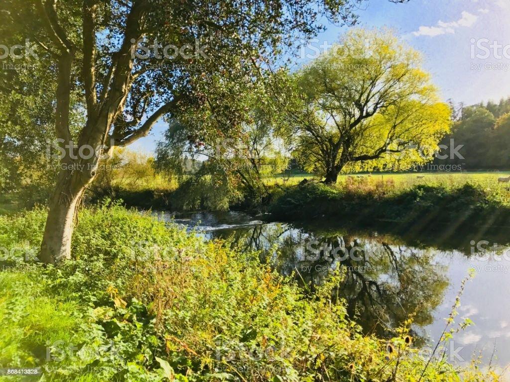 River Avon stock photo