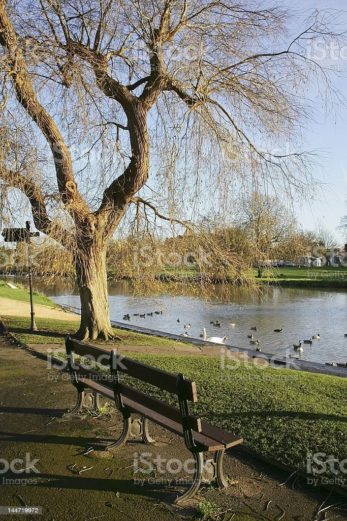 river avon warwick royalty-free stock photo
