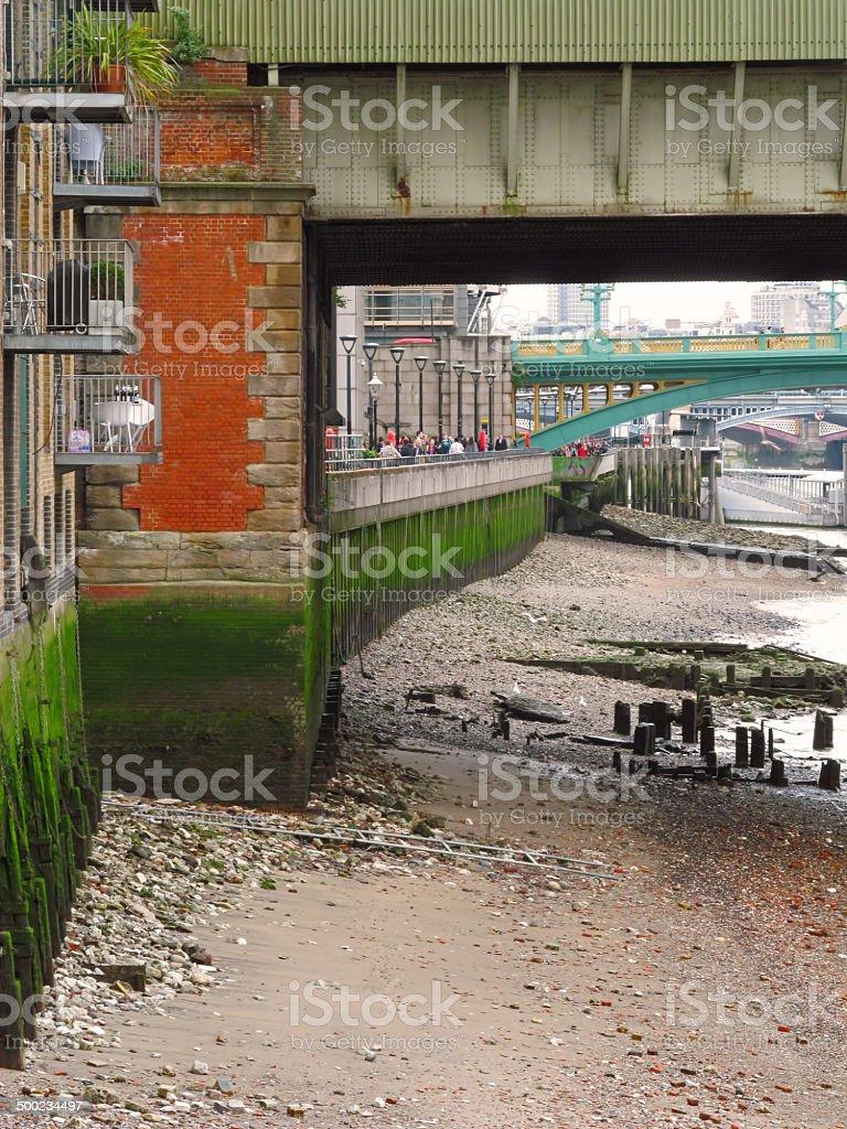 River bank stock photo