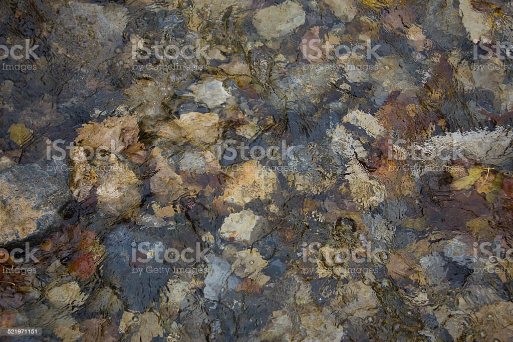 River Bed Bottom stock photo