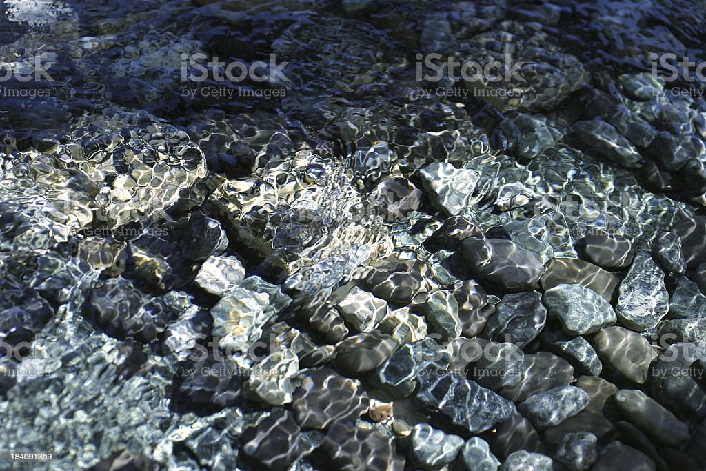 River Bed royalty-free stock photo