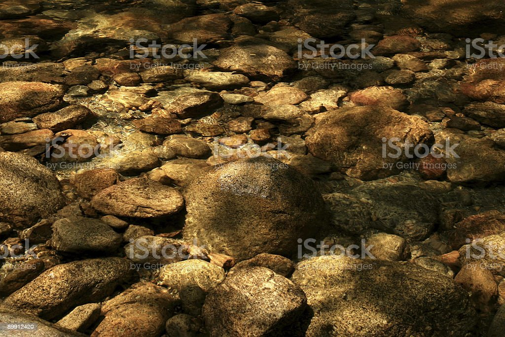 River Bed royalty free stockfoto