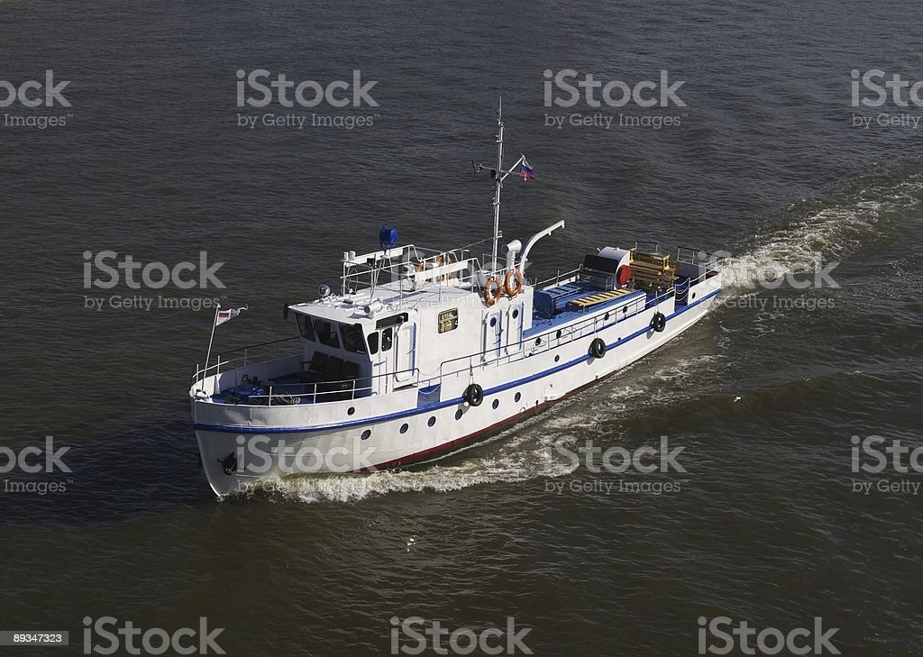 River boat royalty-free stock photo