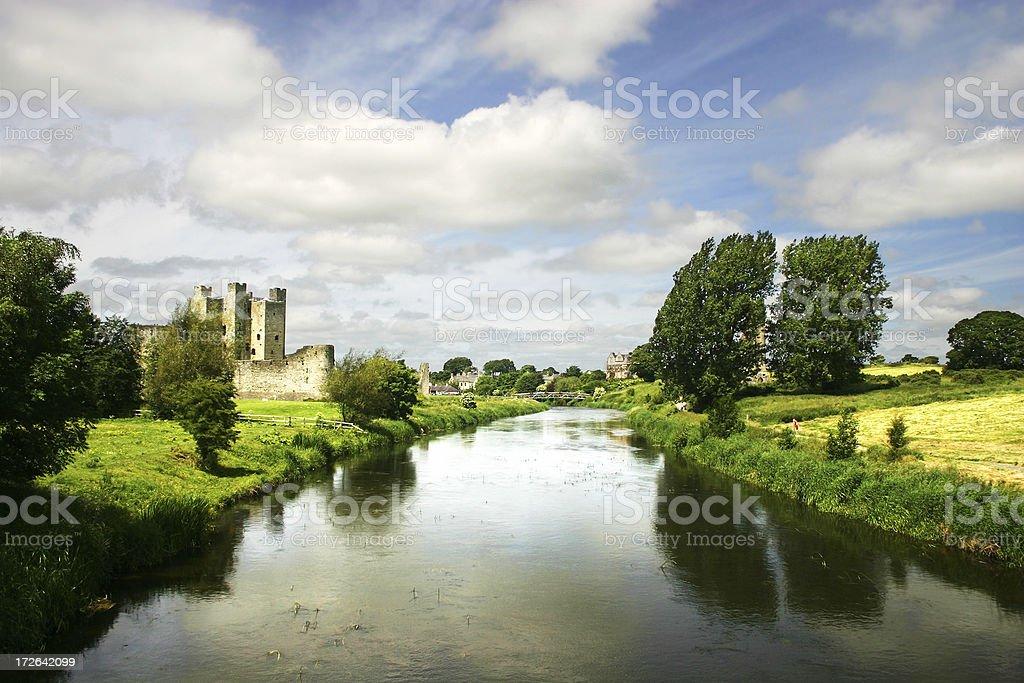 River Boyne royalty-free stock photo