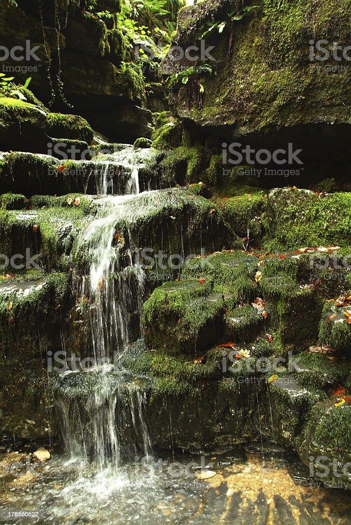River Breggia on Muggio Valley royalty-free stock photo