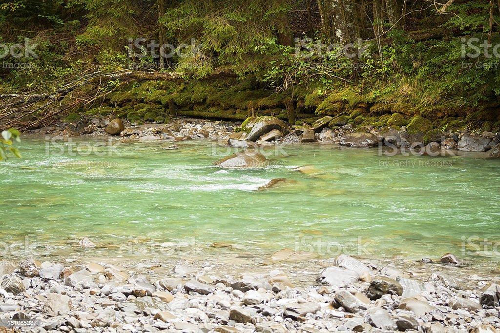 River Breitach royalty-free stock photo
