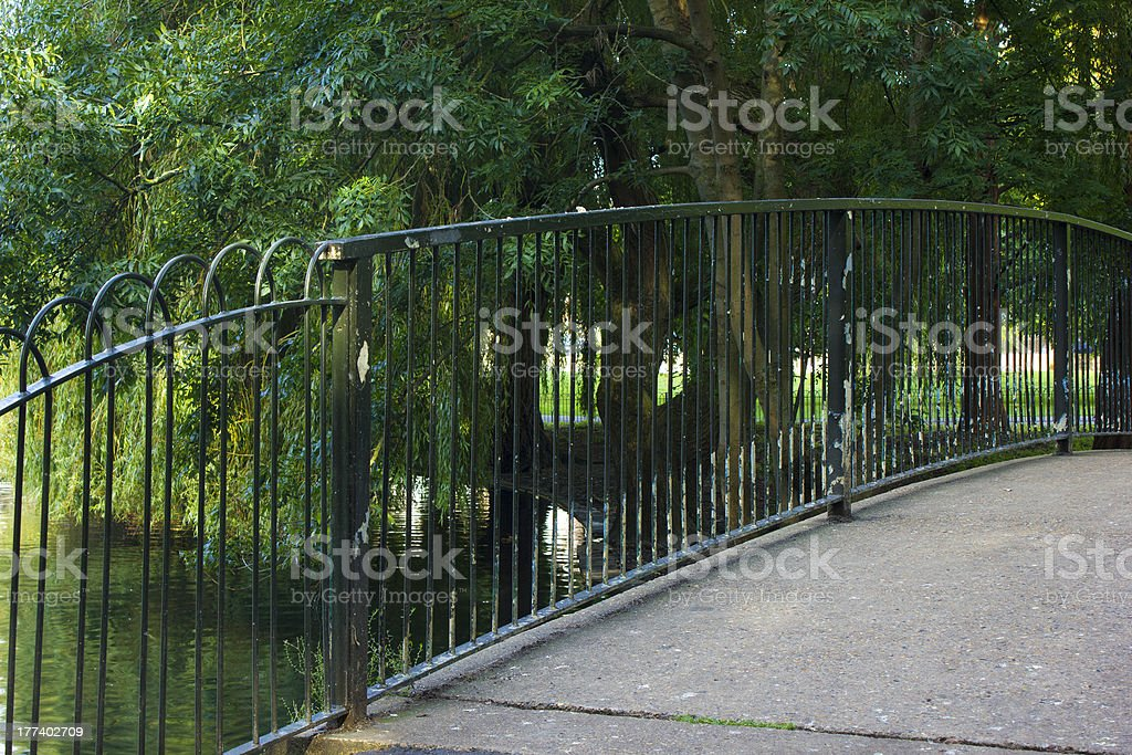 River bridge stock photo