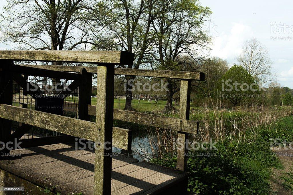 River Bridge royalty-free stock photo