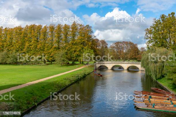River Cam In Autumn Stock Photo - Download Image Now