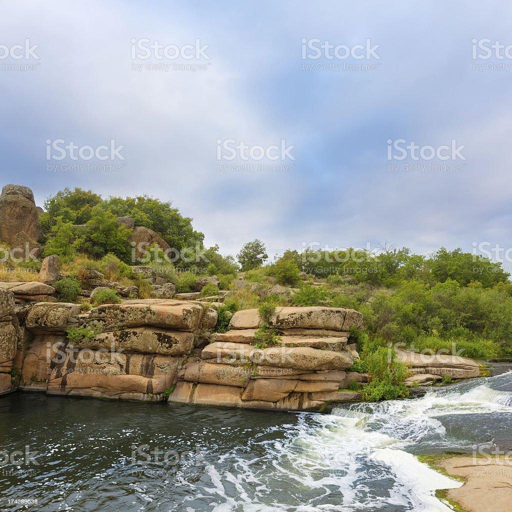 river canyon royalty-free stock photo