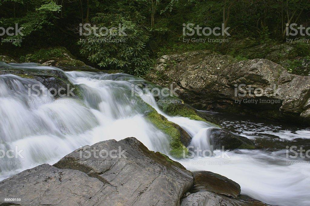 River Cascade royalty-free stock photo