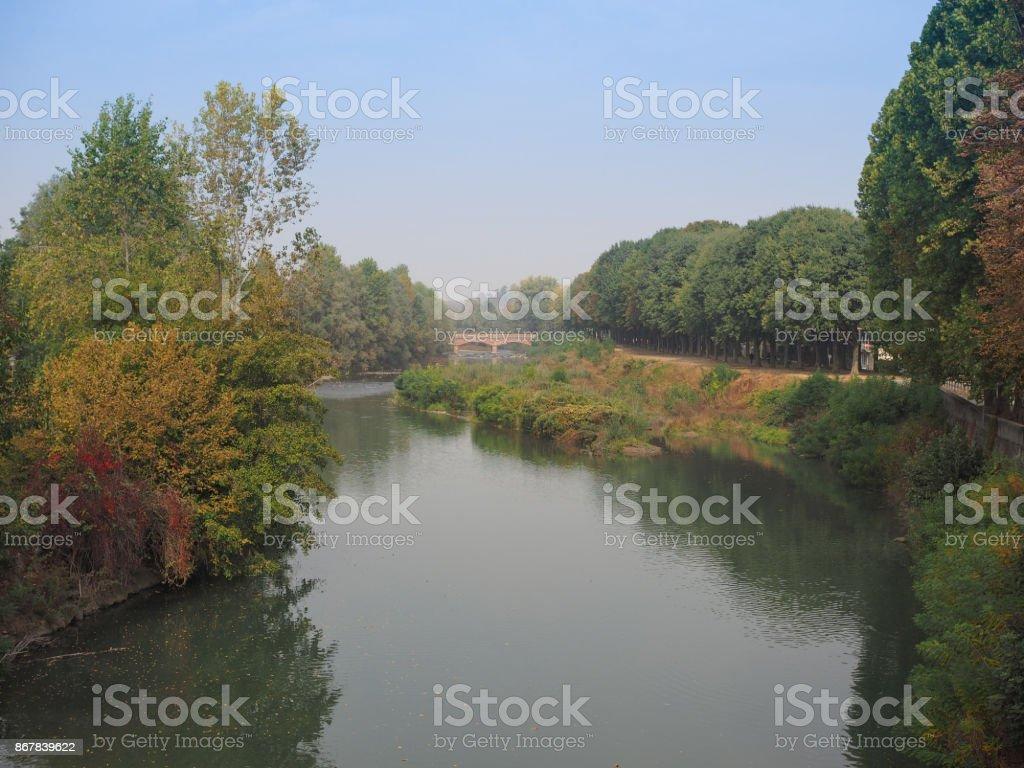 River Ceronda in Venaria stock photo