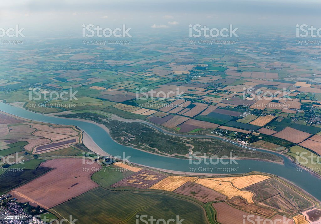 River Crouch stock photo
