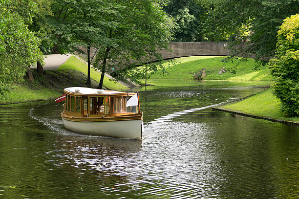 River Cruise stock photo