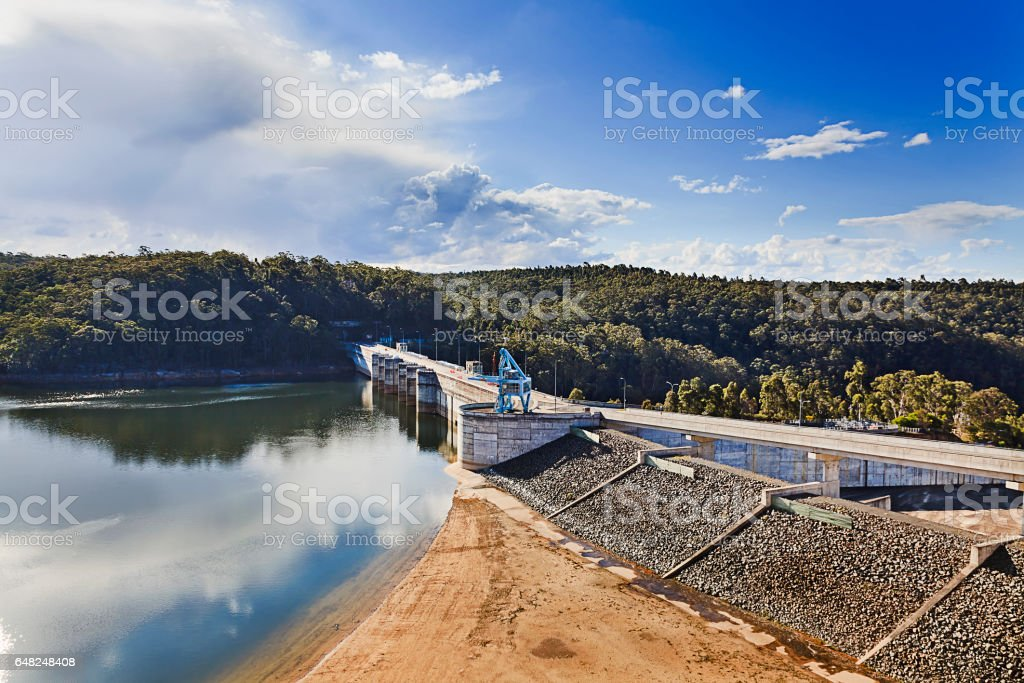 River Dam Warragamba 28 mm stock photo
