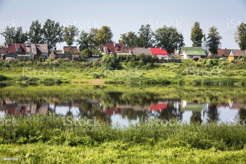 River Daugava foto de stock royalty-free