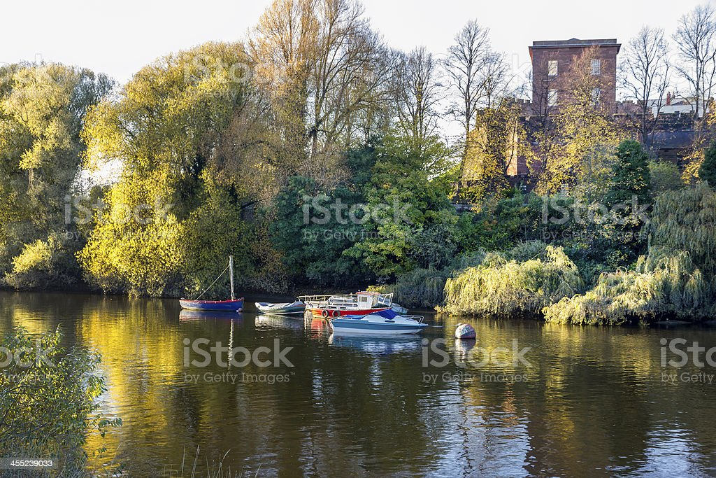 River Dee, Chester royalty-free stock photo