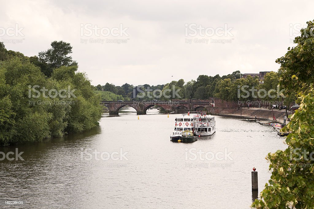 River Dee royalty-free stock photo