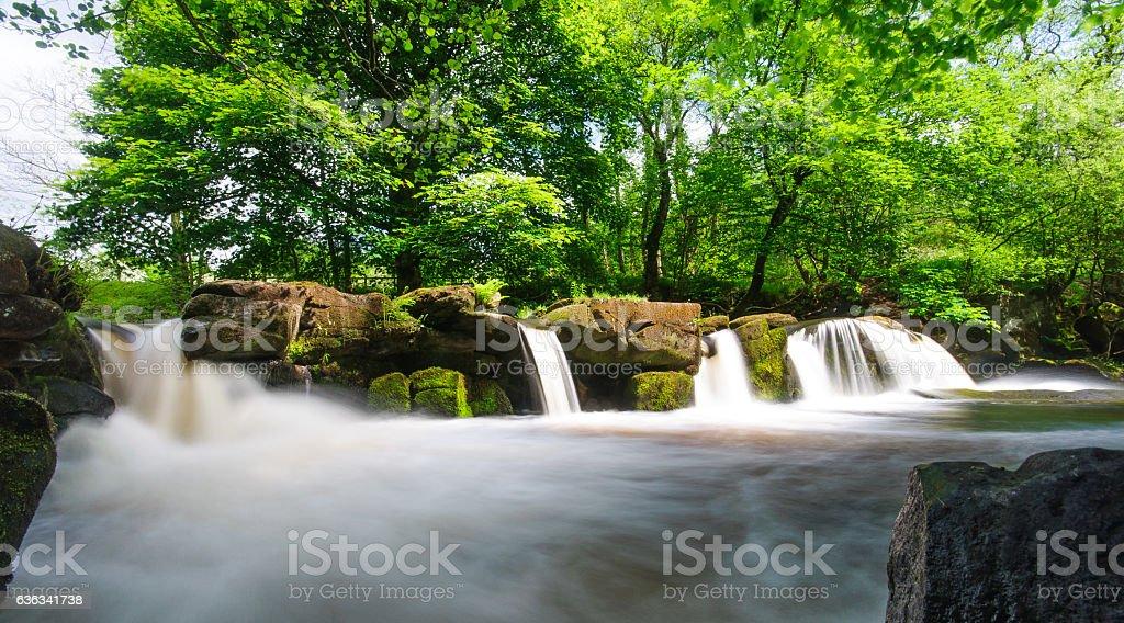River Derwent stock photo