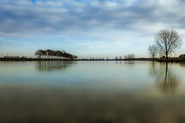 River Dreamscape stock photo