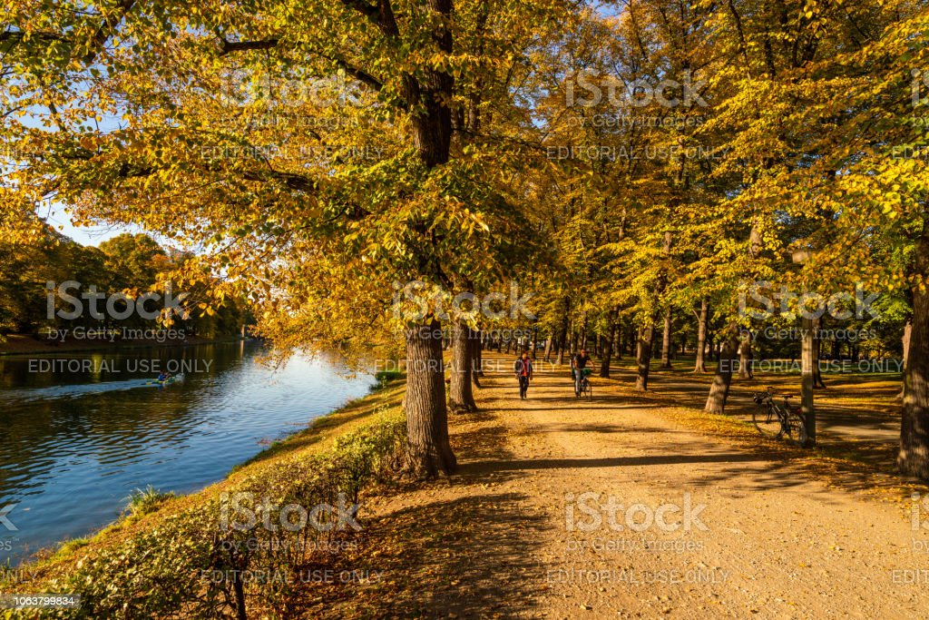 River Elster And Leipzig Street Germany Stock Photo Download Image Now Istock