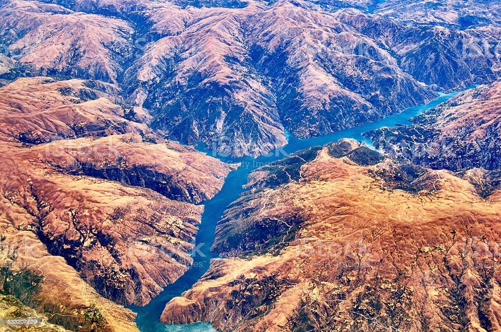 River Euphrates Turkey stock photo