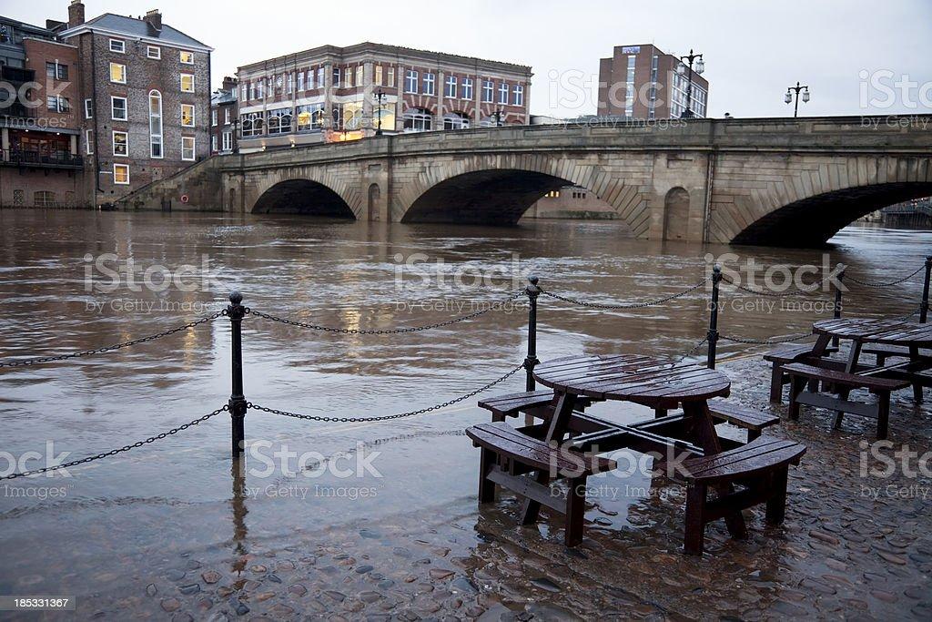 Rivière Inondation - Photo