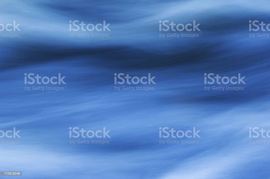 River Flow(horizontal) royalty-free stock photo