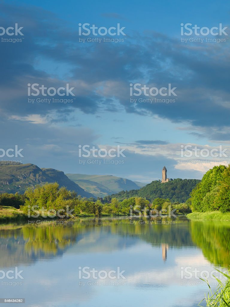 River Forth, Stirling. stock photo