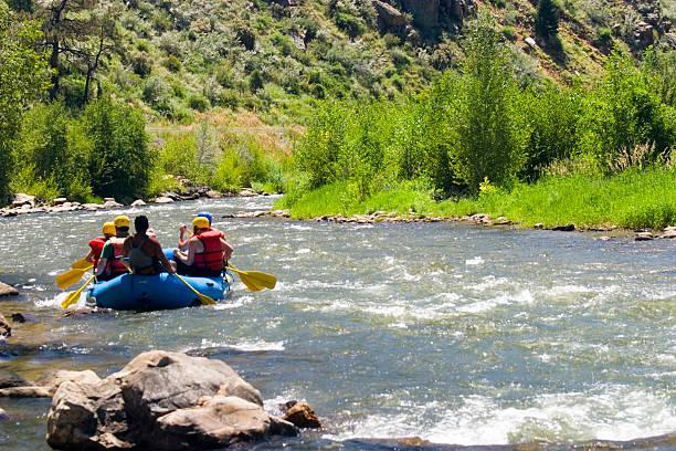 River Fun stock photo